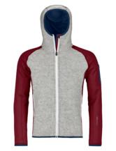 Fleece Plus Classic Knit Hoody Men