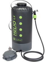 Helio LX Pressure Shower 22L - black