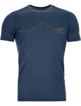 120 Tec Mountain T-Shirt Men