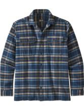 Long Sleeved Fjord Flannel Shirt Men