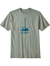 Live Simply Wind Powered Responsibili-Tee