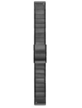 Quickfit Armband - 22 mm Titan Carbongrau DLC