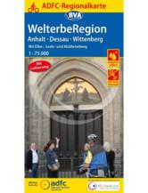 Anhalt / Dessau / Wittenberg Fahrradkarte