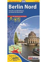 Berlin Nord Fahrradkarte