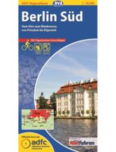 Berlin Süd Fahrradkarte