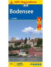 Bodensee Fahrradkarte