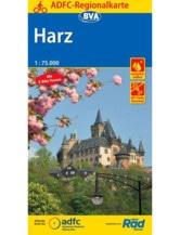 Harz Fahrradkarte