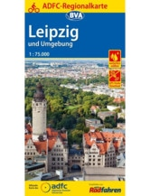 Leipzig und Umgebung Fahrradkarte