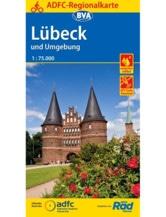 Lübeck und Umgebung Fahrradkarte
