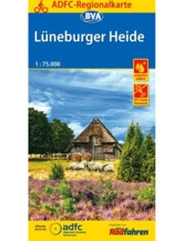Lüneburger Heide Fahrradkarte