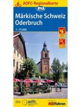 Märkische Schweiz / Oderbruch Fahrradkarte