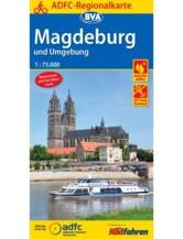 Magdeburg und Umgebung Fahrradkarte