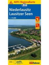 Niederlausitz / Lausitzer Seen Fahrradkarte