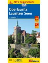 Oberlausitz / Lausitzer Seen Fahrradkarte