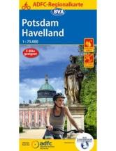 Potsdam / Havelland Fahrradkarte, Auflage 2020