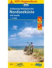 Nordseeküste Fahrradkarte