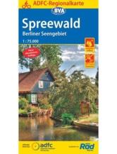 Spreewald / Berliner Seengebiet Fahrradkarte