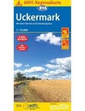 Uckermark Fahrradkarte