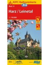 Harz / Leinetal Fahrradkarte