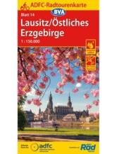 Lausitz / Östliches Erzgebirge Fahrradkarte