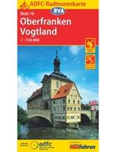 Oberfranken / Vogtland Fahrradkarte