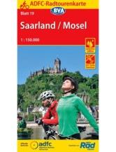 Mosel / Saarland Fahrradkarte