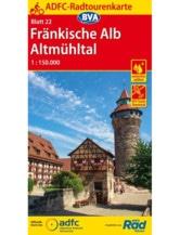 Fränkische Alb / Altmühltal Fahrradkarte