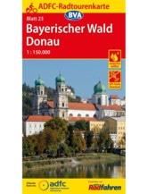 Bayerischer Wald / Donau Fahrradkarte