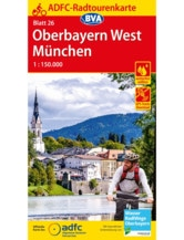 Oberbayern West / München Fahrradkarte