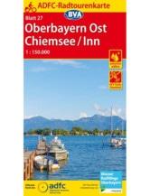 Oberbayern / Chiemsee - Inn Fahrradkarte