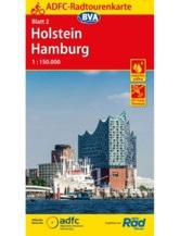 Holstein / Hamburg Fahrradkarte