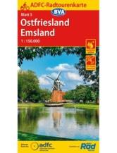Ostfriesland / Emsland Fahrradkarte