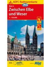 Zwischen Elbe und Weser Fahrradkarte