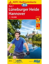 Lüneburger Heide / Hannover Fahrradkarte