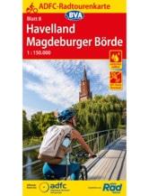 Havelland / Magdeburger Börde Fahrradkarte