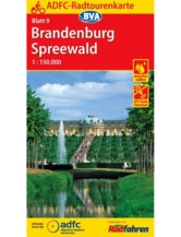 Brandenburg / Spreewald Fahrradkarte