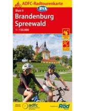 ADFC-Radtourenkarte 9 Brandenburg Spreewald