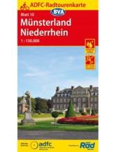 Münsterland / Niederrhein Fahrradkarte