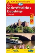 Saale / Westliches Erzgebirge Fahrradkarte