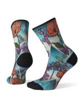 Women's Athlete Edition Run Mountain Print Crew Socks