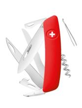Schweizer Messer D07 - rot
