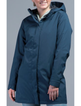 Kjell Hooded Coat Women