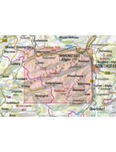 AV-Karte BY 1 - Allgäuer Voralpen West