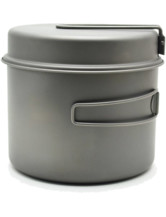 Titanium 1600ml Pot with Pan