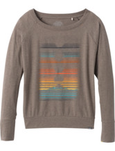 Prana Graphic Long Sleeve Tee Women