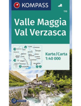 Wanderkarte Valle Maggia - Val Verzasca
