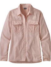 Lightweight A/C Buttondown Shirt Women