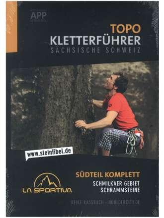 Topo Kletterführer Sächsische Schweiz Südteil 2016