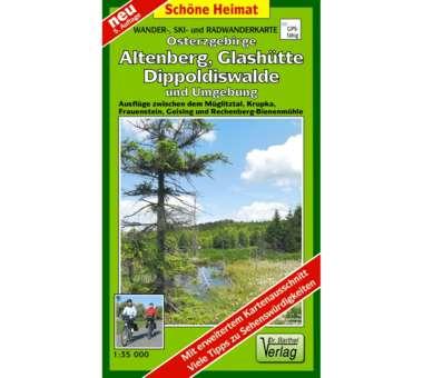 Osterzgebirge, Altenberg, Glashütte, Dippoldiswalde und Umgebung