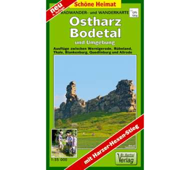 Ostharz, Bodetal und Umgebung